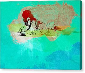 Amy Winehouse 3 Canvas Print by Naxart Studio