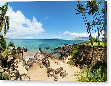 Canvas Print featuring the photograph Amzing Beach In Hawaii Islands by Micah May