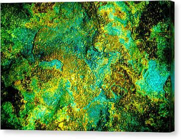 An Abstract World Canvas Print
