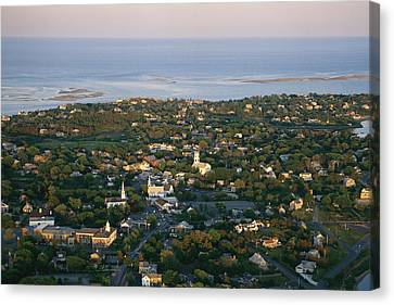 An Aerial View Of Chatham Canvas Print