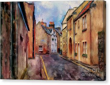 An Afternoon In St Andrews Canvas Print