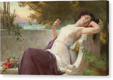 An Afternoon Rest Canvas Print by Guillaume Seignac