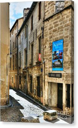 An Alley In Avignon 2 Canvas Print