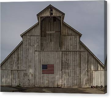 An American Barn Canvas Print