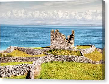 An Ancient Irish Castle Canvas Print by Natasha Bishop
