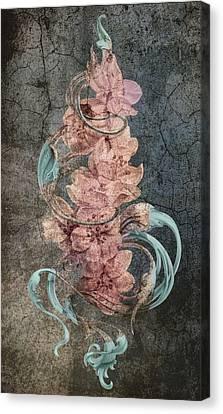 Abstract Digital Canvas Print - An Antique Cherry by Irina Effa