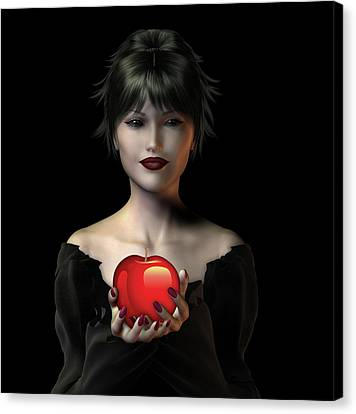 An Apple A Day . . . Canvas Print by David Griffith