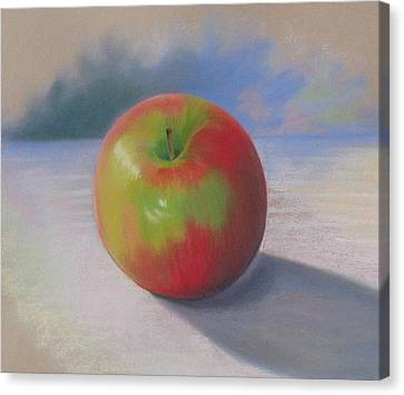 An Apple A Day Canvas Print by Shirley Galbrecht