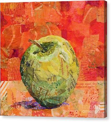 An Apple For Granny Canvas Print