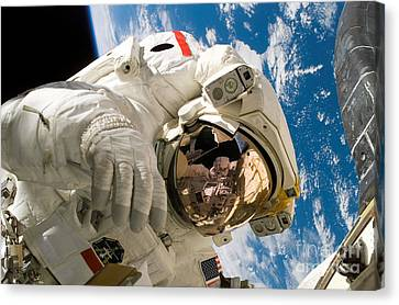 An Astronaut Mission Specialist Canvas Print by Stocktrek Images