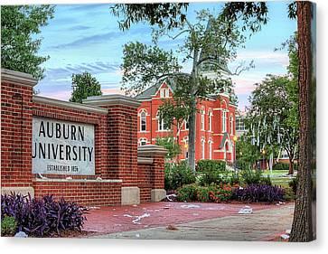 An Auburn University Sunday Morning Canvas Print