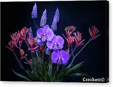 Canvas Print featuring the photograph An Aussie Flower Arrangement by Gary Crockett