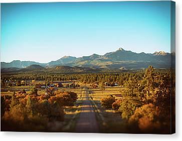 An Autumn Evening In Pagosa Meadows Canvas Print by Jason Coward