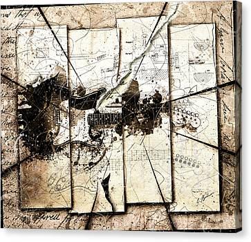 An Axe To Grind Canvas Print by Gary Bodnar