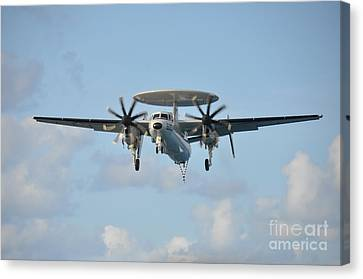 An E-2 Hawkeye  Canvas Print by Celestial Images