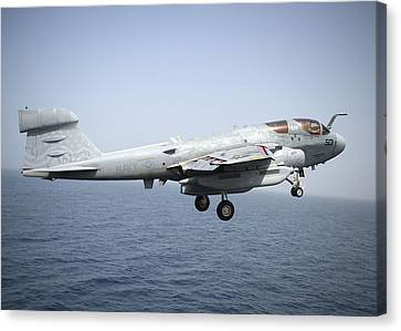 Prowler Canvas Print - An Ea-6b Prowler  by Celestial Images