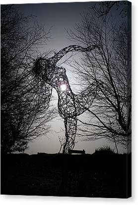 An Eclipse Of The Heart? Canvas Print by Richard Brookes