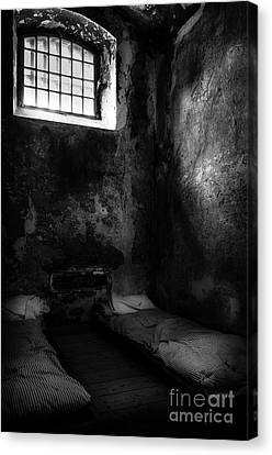 Canvas Print featuring the photograph An Empty Cell In Old Cork City Gaol by RicardMN Photography