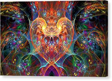 An Energetic Heart Canvas Print
