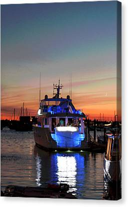 Canvas Print featuring the photograph An Evening In Newport Rhode Island IIi by Suzanne Gaff