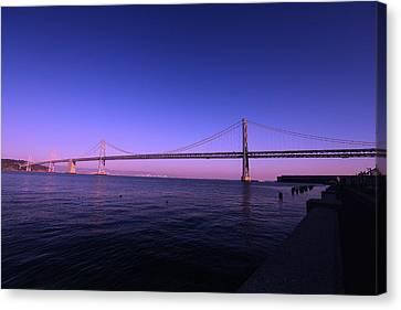 An Evening In San Francisco  Canvas Print