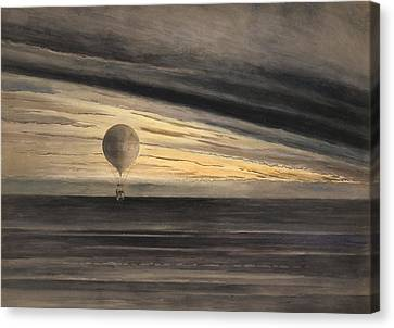 An Evening Over Paris Canvas Print