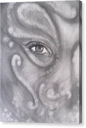 An Eye On You Canvas Print by Adrienne Martino
