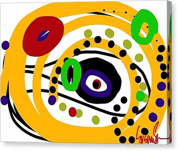 An Eye On You Canvas Print