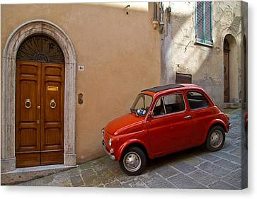 An Italian Classic Canvas Print by Roger Mullenhour