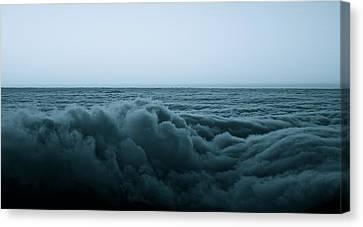 An Ocean Of Clouds Canvas Print