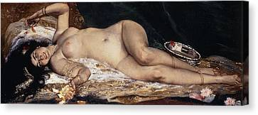 An Odalisque Canvas Print by Ferdinand Roybet