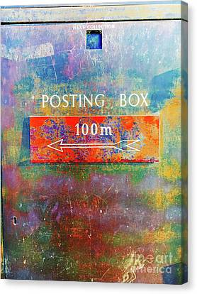 An Old Postbox Canvas Print