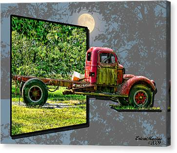 An Old Relic Canvas Print by EricaMaxine  Price