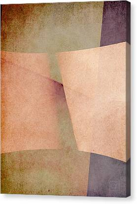 Canvas Print featuring the digital art An Open Invitation by Jean Moore