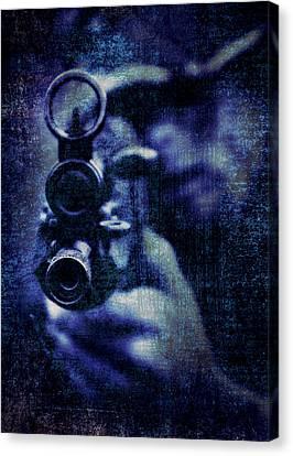 Aim Canvas Print - An Unknown Warrior by Meirion Matthias