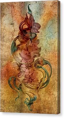 An Vintage Cherry Blosom Canvas Print by Irina Effa