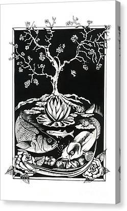 Anacostia River Canvas Print by Jacqueline Endlich