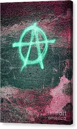 Anarchy In Tallinn Canvas Print