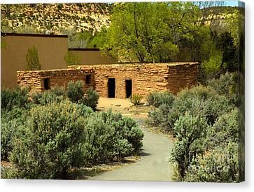Anasazi  Buildings Canvas Print by Robert Bales