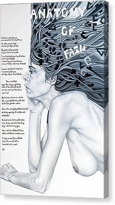 Anatomy Of Pain Canvas Print