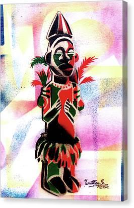 Ancestral Guardian Canvas Print