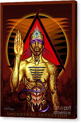 Ancestral Intuition Canvas Print by Tony Koehl
