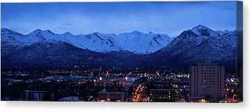 Anchorage At Sunrise Canvas Print