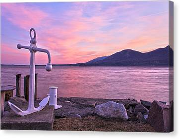 Anchors Aweigh Canvas Print by Angelo Marcialis