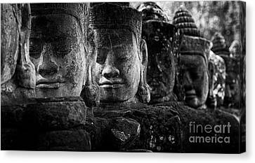 Ancient Cambodia Canvas Print by Bob Christopher