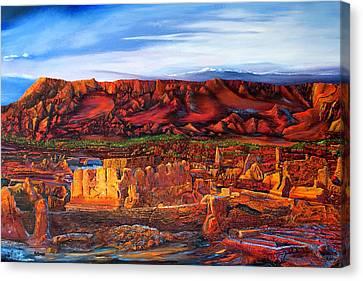Ancient City Canvas Print
