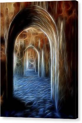 Ancient Doorway 5 Canvas Print