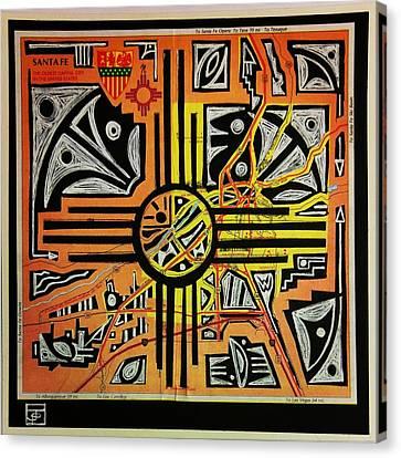 Ancient Echoes Canvas Print by John Parish