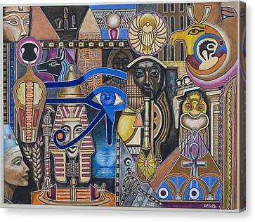 Ancient Egypte Canvas Print