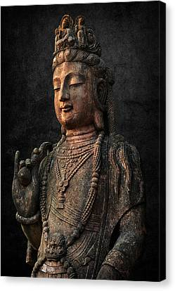 Canvas Print featuring the photograph Ancient Peace by Daniel Hagerman